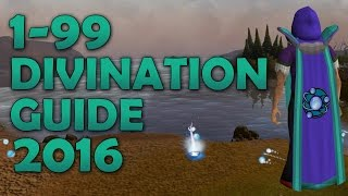 RuneScape 3 | The Ultimate 1-99 Divination Guide 2016 | Best xp Rates and Profit