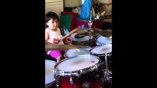 Laila's drumming