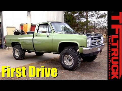 First Drive! Big Green Chevy 350 ZZ6 Crate Engine Swap Ep.10