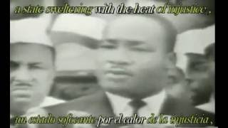 i have a dream   Martin Luther King subtitulos en español