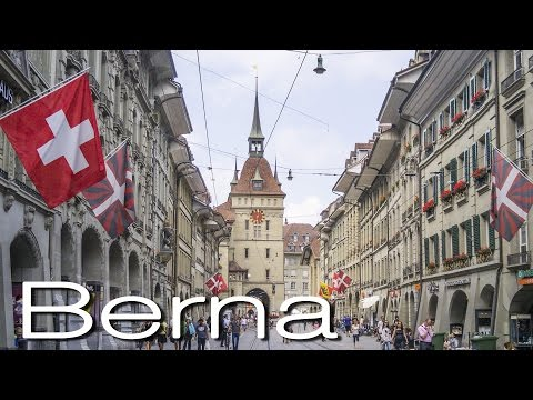 Conheça Berna Capital da Suiça