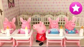 Peppa Pig 57# Los bebés y el calienta biberones Los mejores juguetes de Peppa Pig