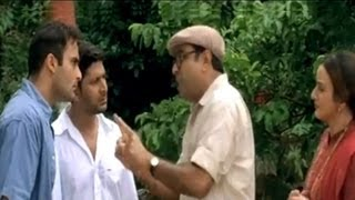 Comedy scene - Akshaye tells Paresh Rawal that he loves Kareena and wants to marry her (Hulchul)