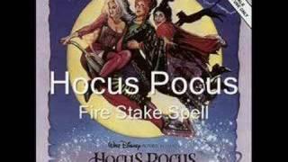 Hocus Pocus - Fire Stake Spell RARE