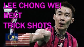 LEE CHONG WEI BEST TRICK SHOTS Badminton 2016