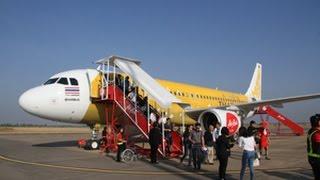 เที่ยวบินแรกไปร้อยเอ็ด! สายการบินแอร์เอเชีย - Air Asia เปิดเที่ยวบินกรุงเทพ- ร้อยเอ็ด ตามไปดูกัน