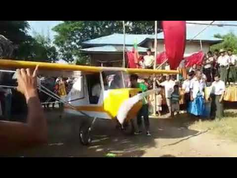 Xxx Mp4 The First Invented Wood Airplane In Myanmar Part 1 3gp Sex