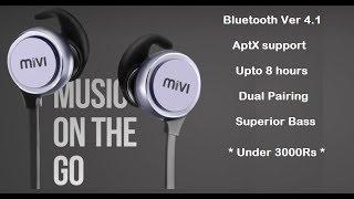 Unboxing MIVI ThunderBeats Bluetooth Headphone   Indepth Review   Best Headphones under 3000 rupees
