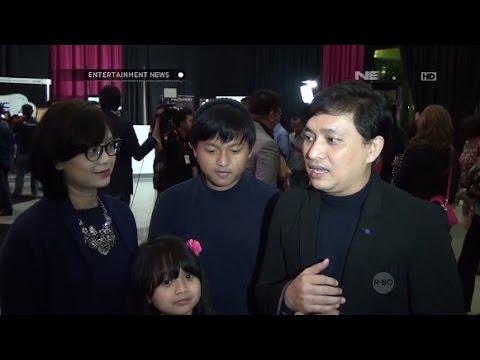 Kebersamaan Yovie Widianto dengan sang istri dan anak