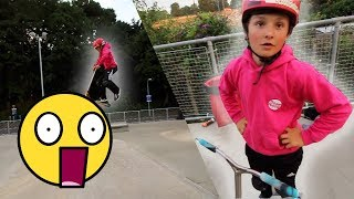 CRAZY 13 YEAR OLD SCOOTER KID!!