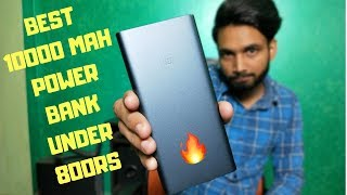 MI Power Bank 2i Best 10000 mAh Power Bank Under 800 rs