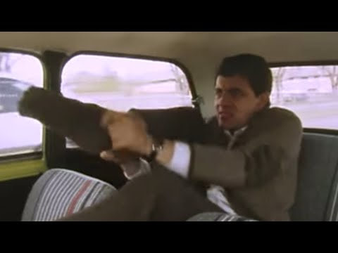 Mr. Bean - Getting Ready on the Way