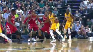 Paul George and James Harden Duel in Indiana