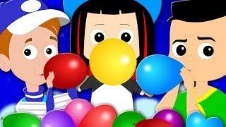 Balloon Song   Original Nursery Rhymes   Baby Songs   Children Rhymes