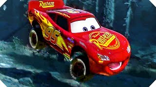 Lightning McQueen BIG JUMP in the Forest ! - CARS 3 (Animation, 2017