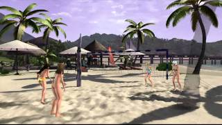 DOAX2 - Volleyball - HItomi, Lei Fang, Helena, Christie