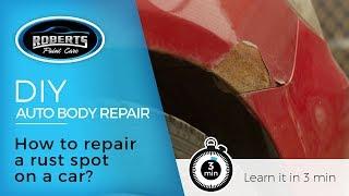 DIY: How to repair a rust spot on a car?