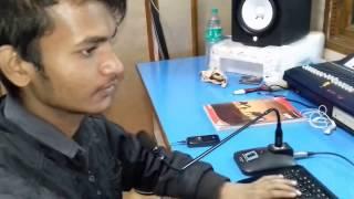 LIVE RECORDING in symphony studio PATNA SINGER SHRAN SURILA