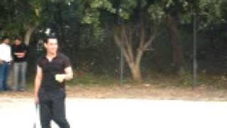 Aamir Khan Playing tennis