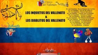"""Los Inquietos & Los Diablitos - Vallenato Romantico """"Exclusivo"""""""