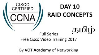 CCNA Full Series CISCO Video Training Free in Tamil - DAY 10 RAID CONCEPTS