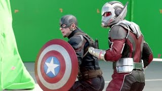 CAPTAIN AMERICA: CIVIL WAR B-Roll Footage #2 (2016) Marvel Movie HD
