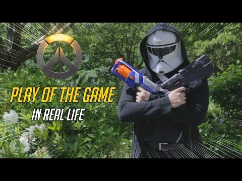 OVERWATCH PLAY OF THE GAME IN REAL LIFE