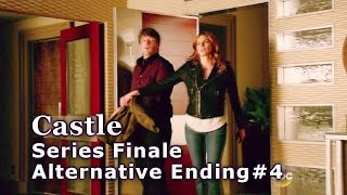 "Castle 8x22 Alternate Ending #4 / End Series Finale ""Crossfire"" (HD) Happy Castle & Beckett Caskett"