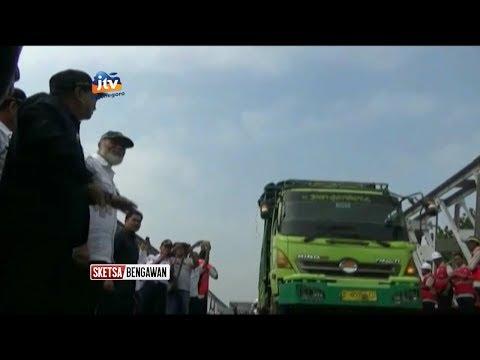 Gubernur Jatim Resmikan Jembatan Widang - Sketsa Bengawan