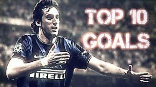 Diego Milito - Top 10 Goals