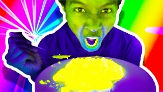 GLOW IN THE DARK FOOD!?! WHAT?!?!