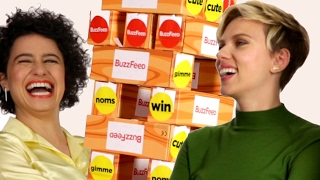"Scarlett Johansson, Zoë Kravitz, Ilana Glazer, And Jillian Bell Have A ""Rough"" Interview"