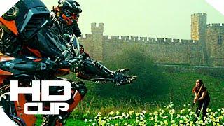 Transformers 5 : The Last Knight  Hot Rod and Bulldog Movie Clip