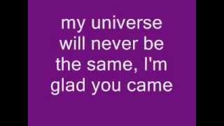 Glad You Came - Glee Version with lyrics