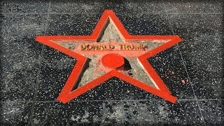 TRUMP WINS AFTER HILLARY'S VANDALS DESTROY HIS HOLLYWOOD STAR