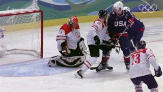 Team USA Highlights - Men's Ice Hockey - Vancouver 2010 Winter Olympic Games