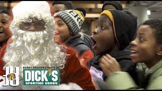 JuJu Surprises kids in Pittsburgh as JuJu Claus!