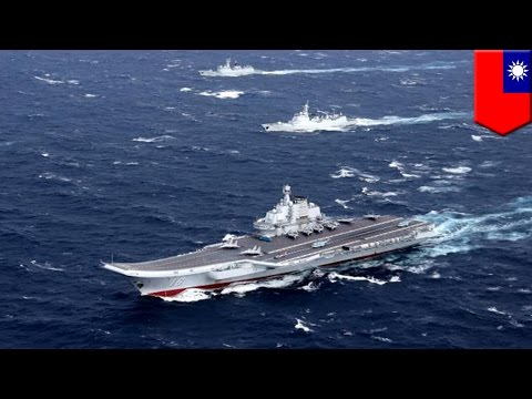 watch China-Taiwan relations: China aircraft carrier enters Taiwan Strait, Taiwan deploys jets - TomoNews