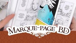 TUTO: Le marque-page BD Dragon ball | Tutorial Aladine