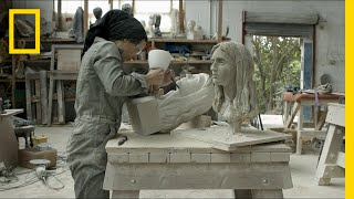 Watch a Masterpiece Emerge from a Solid Block of Stone | Short Film Showcase