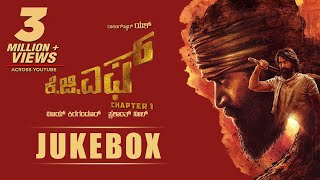 KGF Chapter 1 Kannada Jukebox  | Yash | Prashanth Neel | Hombale Films | Ravi Basrur | Kgf Songs