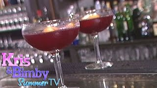 Kris TV: Kim & Kris get a little tipsy