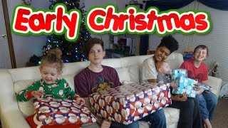 KiDS OPENING EARLY CHRISTMAS PRESENTS 2018