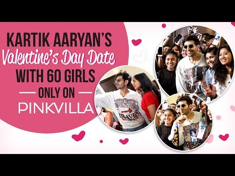 Xxx Mp4 Luka Chuppi Star Kartik Aaryan Keeps His Valentine's Day Date With 60 Girls Photo Song 3gp Sex