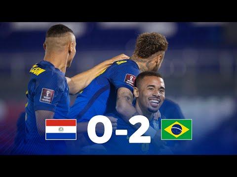 Eliminatorias Sudamericanas Paraguay vs Brasil Fecha 8