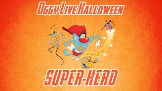Oggy and the Cockroaches - Live Halloween Compilation #Super-Hero