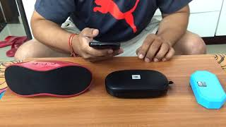Comparing Bluetooth Speakers of JBL Tune, Altec Lansing Mini H2O and Philips BT4200