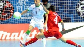 IRAN vs VIETNAM: AFC Futsal Championship 2016 (Semi Finals)