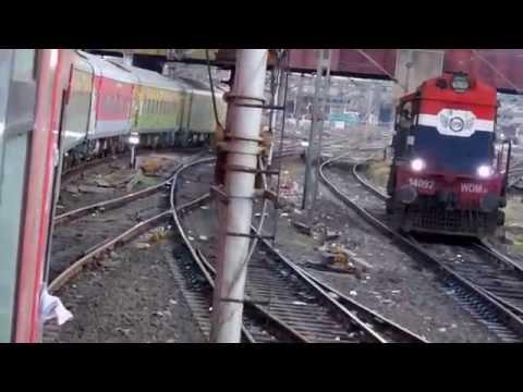 Pune- Ahmedabad Duronto Express Arriving Ahmedabad Railway Station