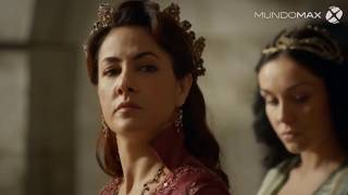 Nazenin da a luz a la hija de Suleiman (Raziye) - EL SULTAN